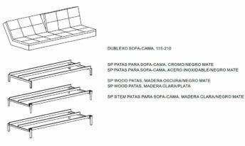 INNOVATION DUBLEXO SOFA CAMA
