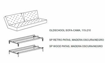 INNOVATION OLDSCHOOL SOFÁ CAMA