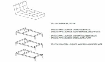 INNOVATION SPLITBACK LOUNGER
