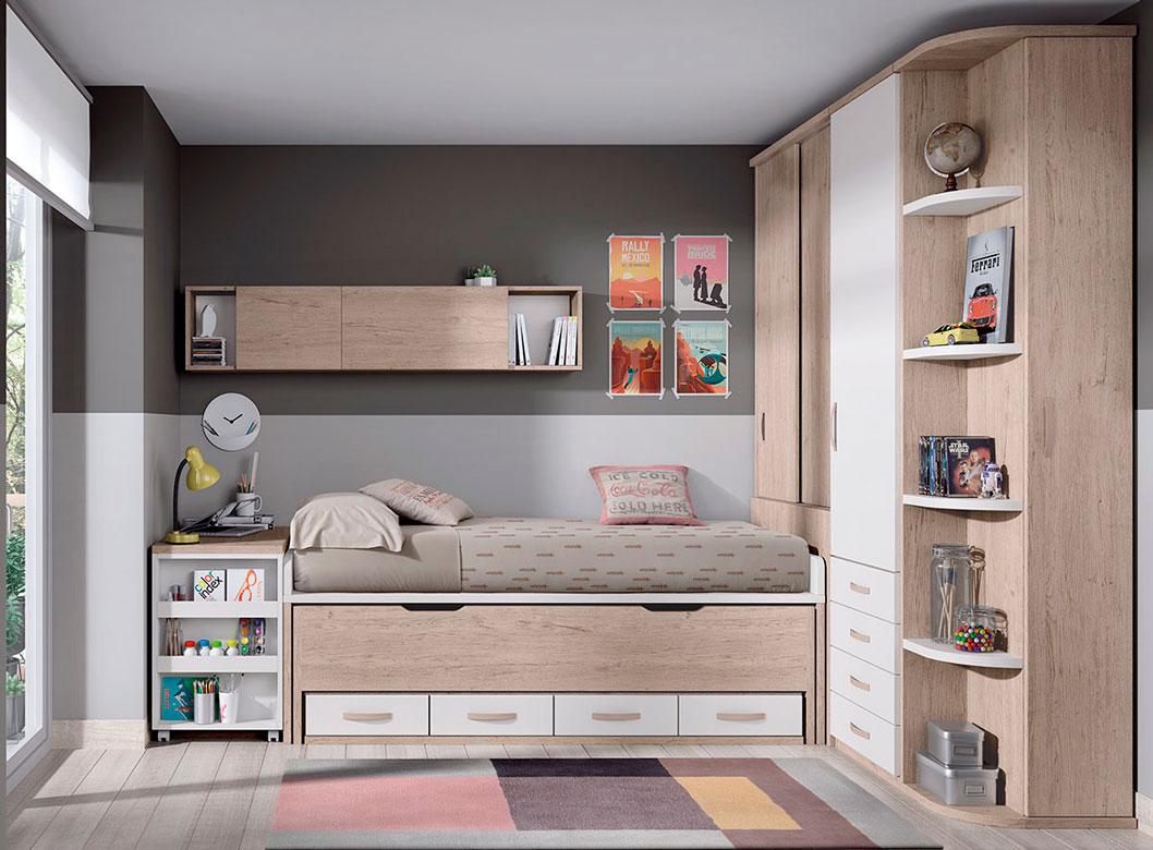 Dormitorio juvenil formas 19 decoramos es Dormitorios juveniles formas