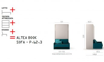 CLEI ALTEA BOOK SOFA