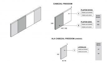 CABEZAL FREEDOM