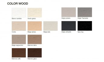 PRESOTTO WOOD COLOR