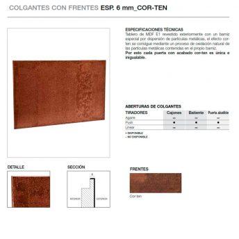 FRENTE 6MM COR-TEN