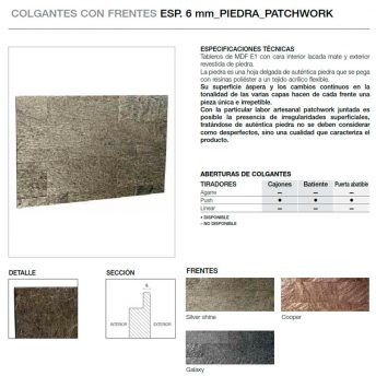 FRENTE 6MM PIEDRA PATCHWORK