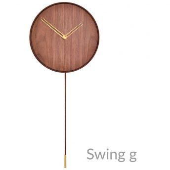 NOMON SWING G - NOGAL/LATÓN