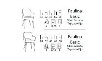CASUAL PAULINA SILLÓN