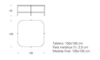 EXO - 100x100x40