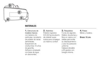VENICE - MATERIALES